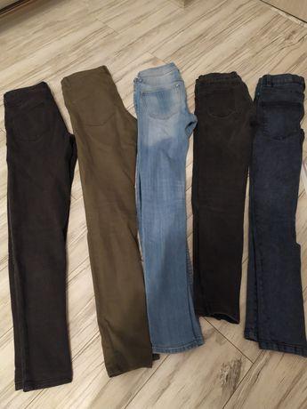 Spodnie dżinsowe damskie