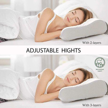 poduszka do spania pod głowę ortopedyczna viscoelastic