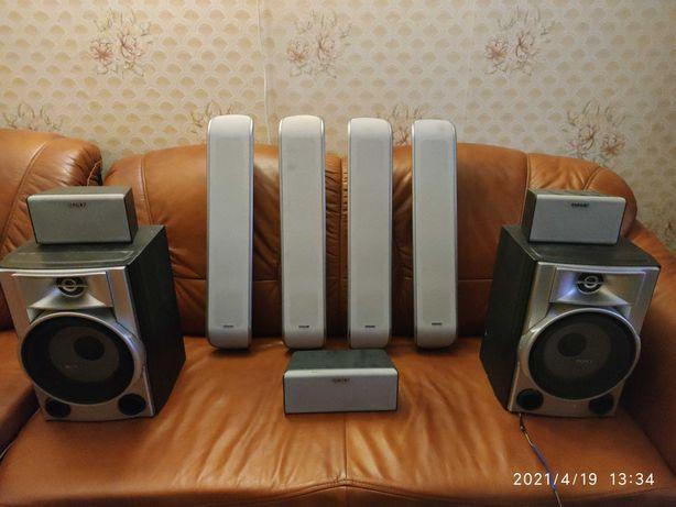 AVресивер Pioneer 700w и мощ. акустика из Германии 7.1/микрофон/оптика