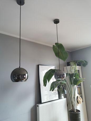 Lampy wiszące kule 2 szt.