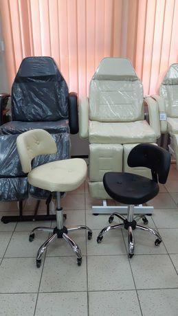 Стул кресло мастера маникюра, педикюра, удобный, 1 год гарант, наложка