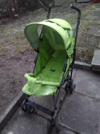 Wózek Spacerówka zielona b.dobry stan składana