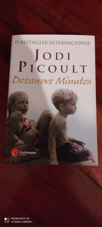 Livro Dezanove Minutos como novo
