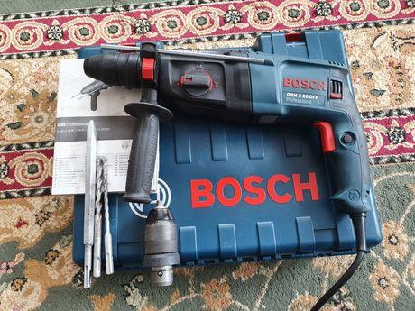 Młotowiertarka Bosch GBH 2-26 DFR, komplet, 2 głowice!