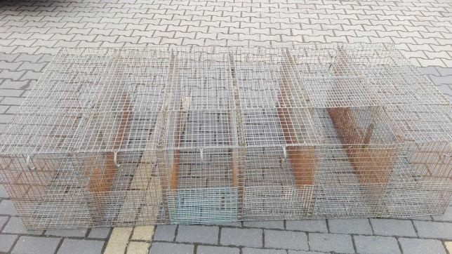 Klatka dla królików, gryzoni , ptaków, 6 komorowa
