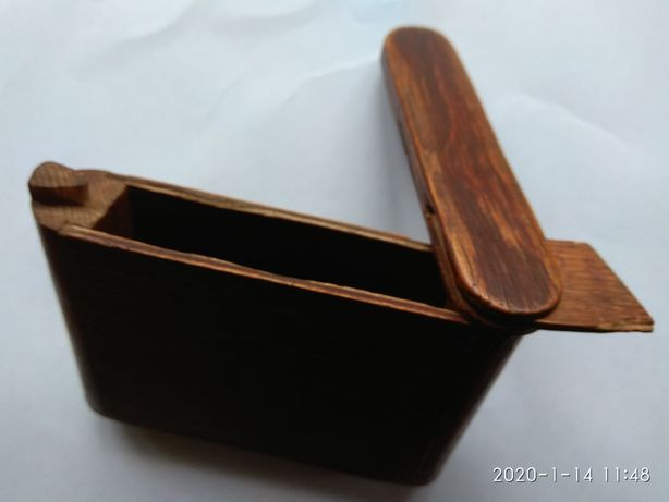 Стар.деревянный кошелек.1905г..