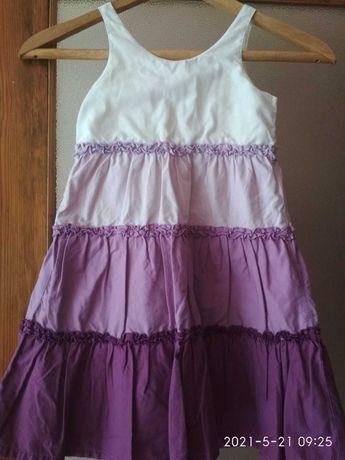 Платье-сарафан летний на  5-6 лет-очень красивый