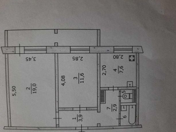 2к квартира Левый берег 4мкр Крута от собственника