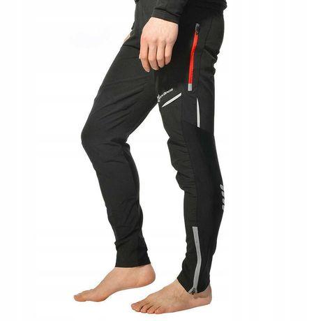 Spodnie rowerowe długie ROCKBROS XXL czarne