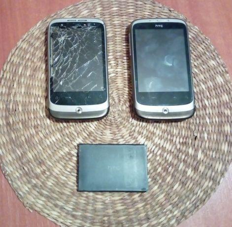 Telefony HTC Wildfire - 2 sztuki