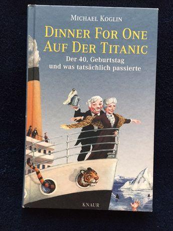 Dinner for one auf der Titanic, livro em Alemão