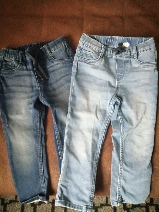 Spodnie jeansowe dżinsowe H&M r 92 Dobre - image 1