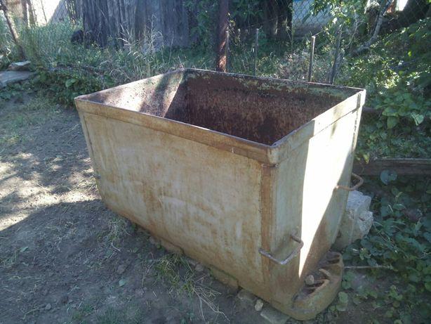 Вагонетка ёмкость для воды 600 литров