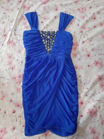 Продам синю сукню