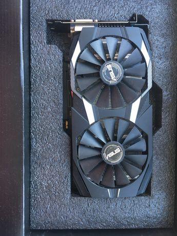 AMD RX580 8GB от asus