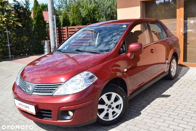 Nissan Tiida 1,6 benz110 KM Klimatr Bluetooth Halogeny Chrom Tempomat Czujn.cofania