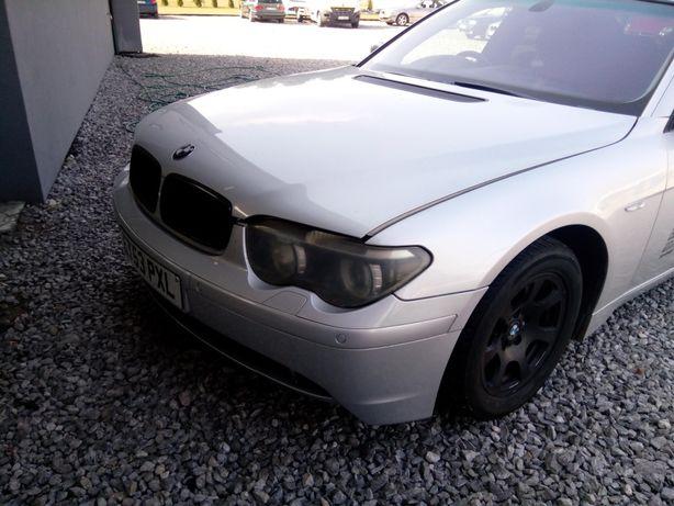 Kompletny przód BMW E65 titansilber do malowania