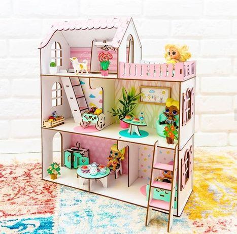 Дом для кукол ЛОЛ Дача NestWood Ляльковий будинок LOL, Enchantimals
