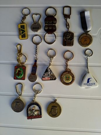 Lote de porta chaves diversos