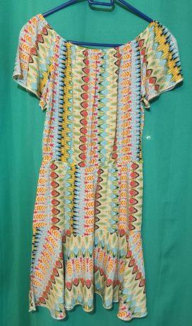 Sukienka mini - kolorowa - wiosna/lato - polecam serdecznie.