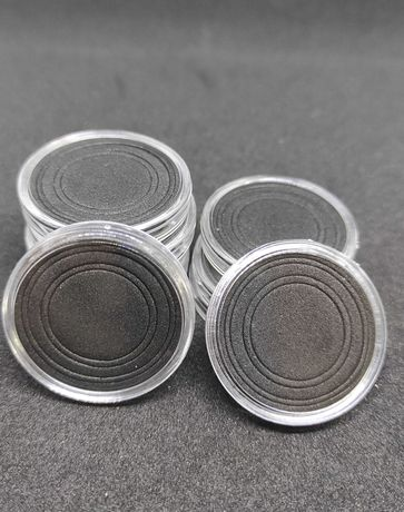 Капсулы для монет 10 шт и 10 вкладышей под размеры 18;21;25;27;30 мм