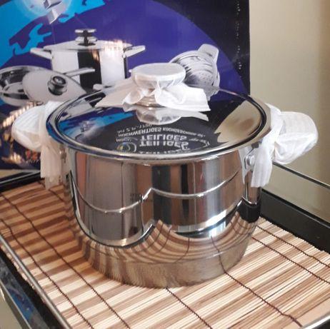 Красивый большой набор посуды Zepter Кастрюли Сковорода Свадьба Юбилей