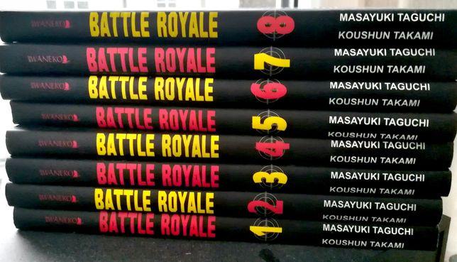 Manga Battle Royale 1-8