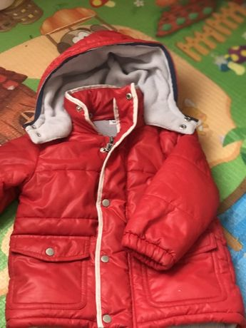 Детская курточка на 12 месяцев