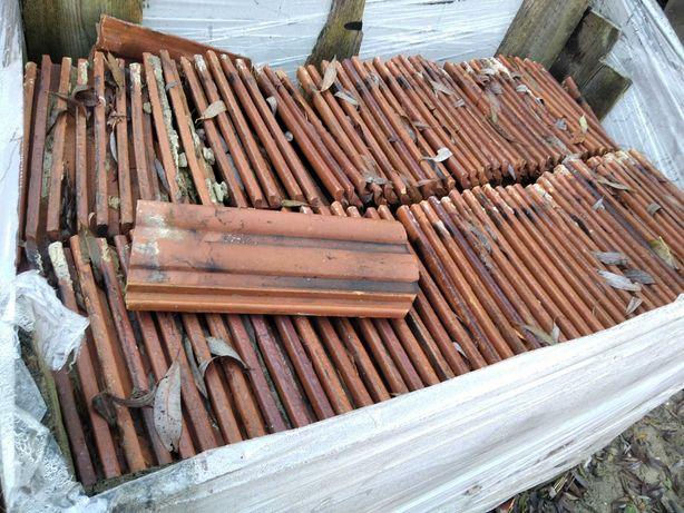 dachówki z rozbiórki stodoły