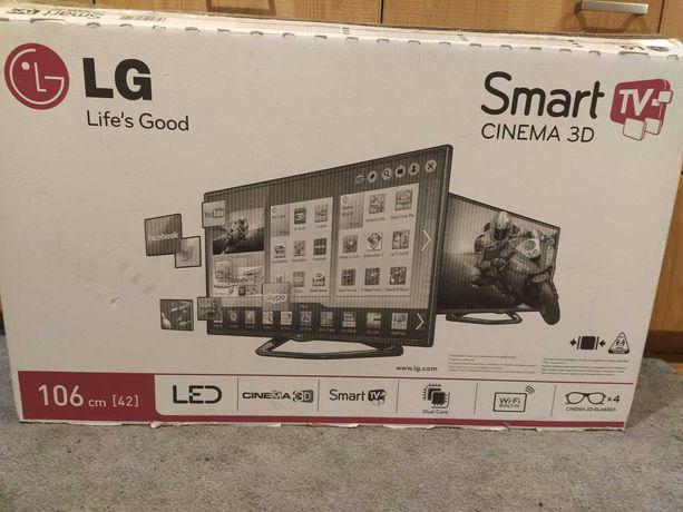 Telewizor (TV) - model: LG 42LA620S (42 cale) LED, 3D