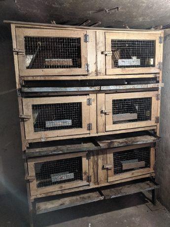 Клітка для кролів(15штук)
