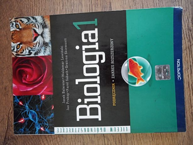 Biologia 1 Operon zakres Rozszerzony