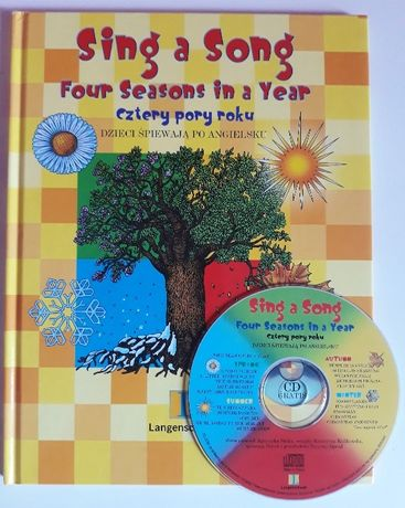 Sing a Song Four Seasons in a Year cztery pory roku + płyta CD