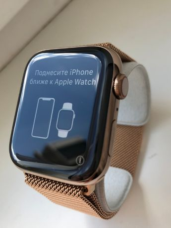 Apple Watch 5 44mm Stainless Steel Gold