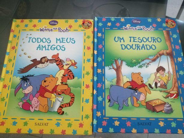 LIvros Winnie the Pooh