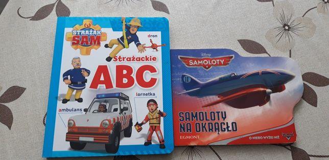 Książka z bajek strażak sam i samoloty.