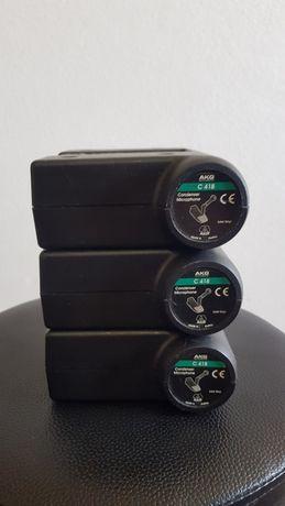 Microfone Bateria AKG C418
