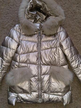 Зимняя куртка пуховик парка Zlya