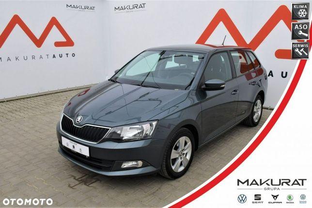 Škoda Fabia SalonPL, Vat23%, Ambition, ASO, 4 el. szyby, Cz. park. Alu, Bluetooth