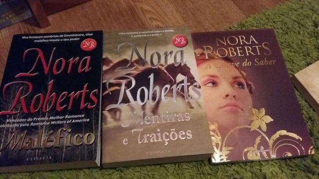 Livros Nora Roberts como novos