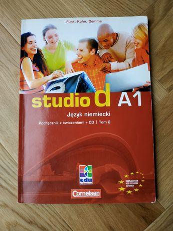 Studio d A1 Język niemiecki Podręcznik + CD Tom 2