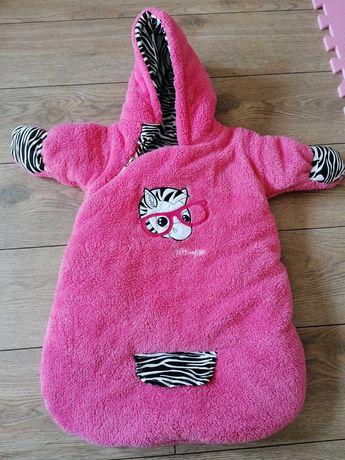 Śpiworek zebra Luna do fotelika Bamar Nicol