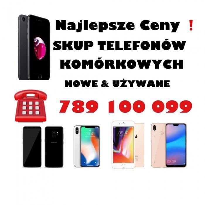 Skup Telefonów ! Najlepsze Ceny ! Nowe / Używane / nie kompletne...