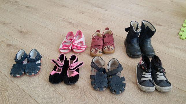 Buty, kapcie dla dziewczynki 19-23