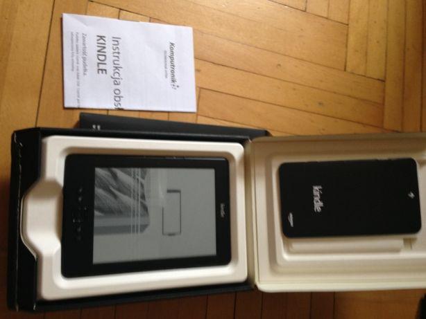 Czytnik e-book Amazon Kindle 4 WiFi z pękniętym ekranem