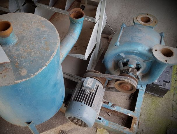 Motor de vacuo industrial