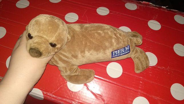 мягкая игрушка тюлень морской котик морж SAN Francisco Cша pier 39