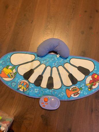 Музыкальный коврик для новорожденных