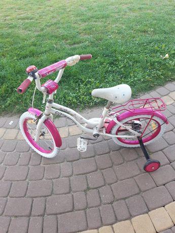 Rowerek 16 cali dla dziewczynki