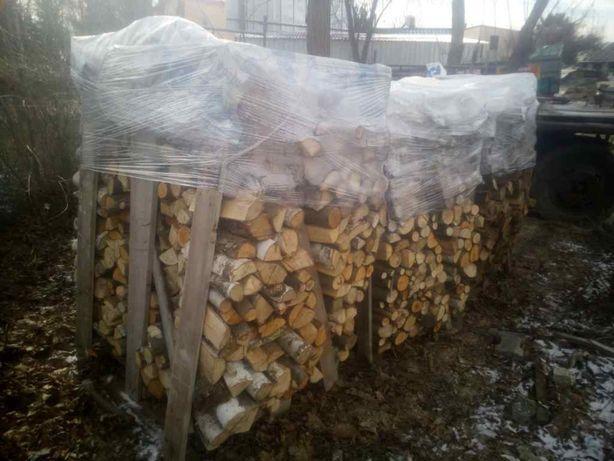 Drewno kominkowe szczapy - Brzoza, Akacja, Sosna sezonowane